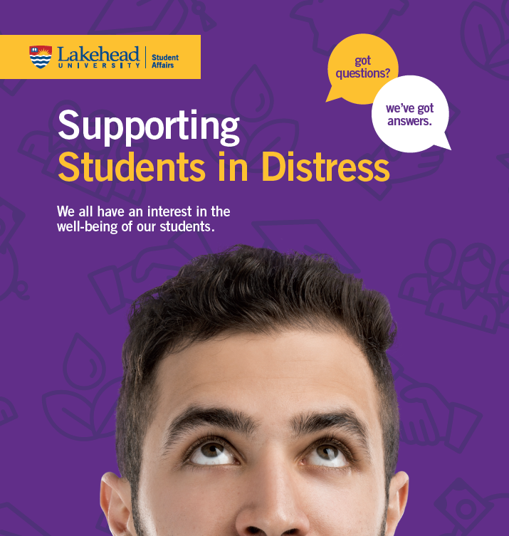 Supporting Students in Distress Guide