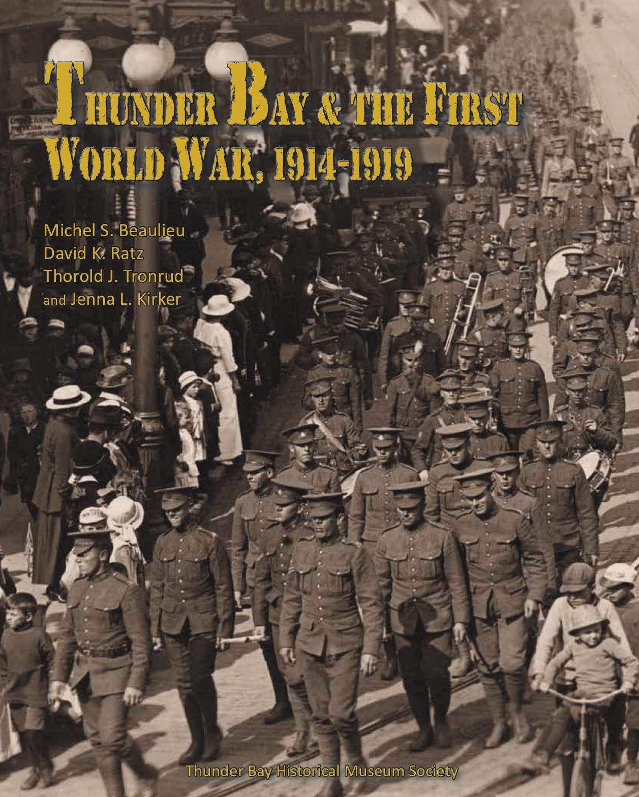 Thunder Bay and the First World War Cover
