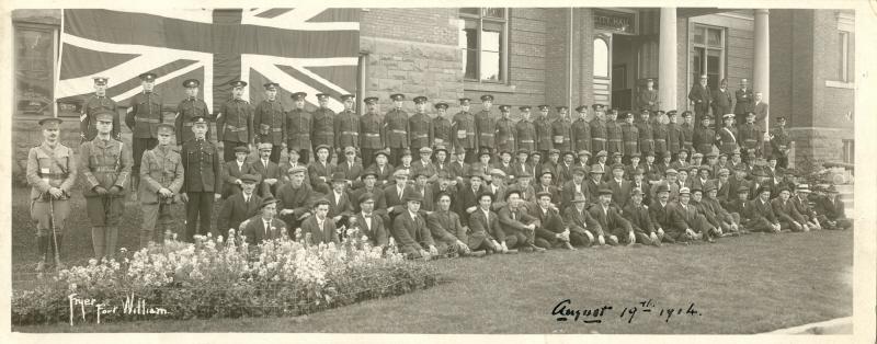 First World War Fort William 19 August 1914