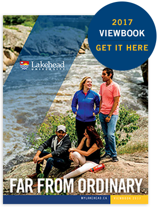 Lakehead University Viewbook Cover