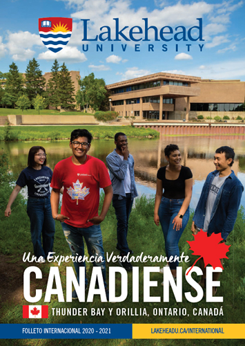 The 2020 Lakehead University International Viewbook cover.