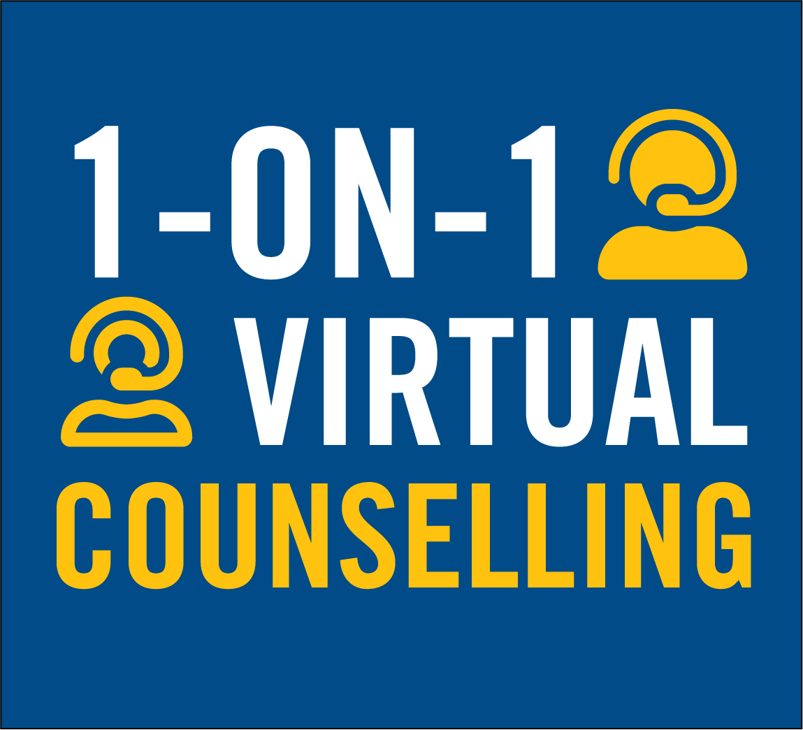 1-on-1 Virtual Counselling
