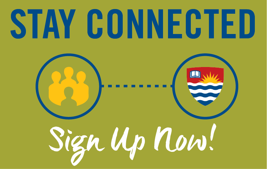 Stay Connected with Lakehead International. Sign up now!