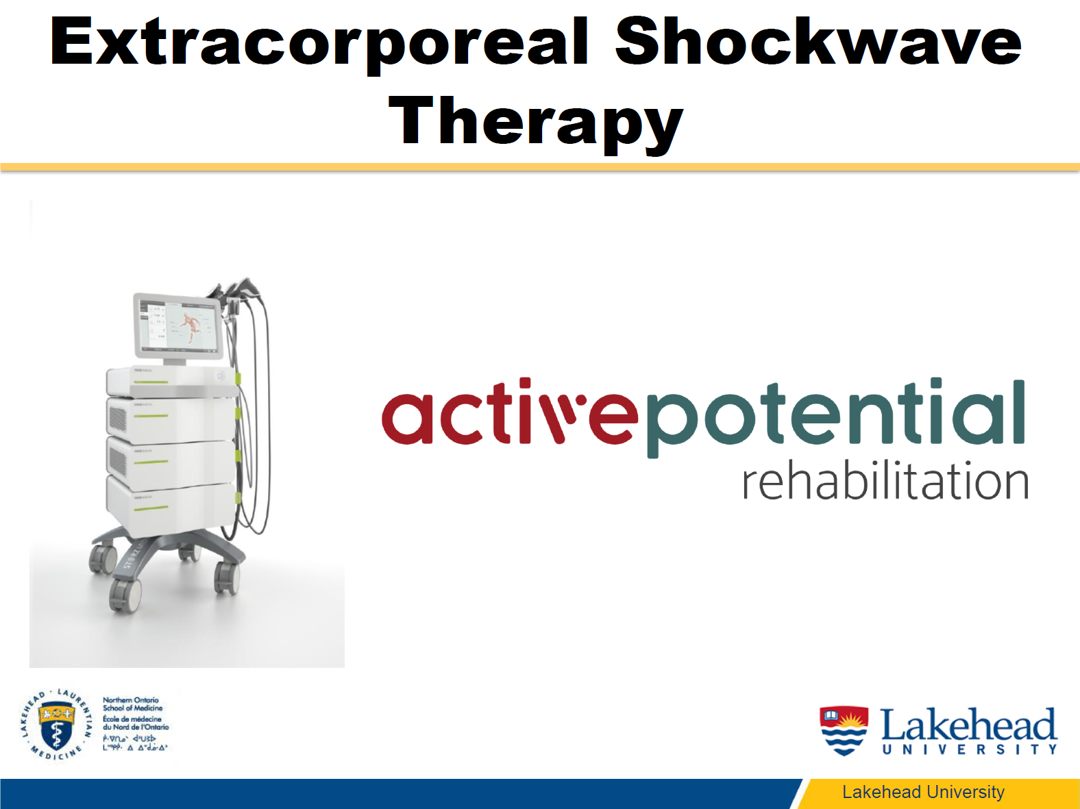 Dr. Sanzo Shockwave Therapy