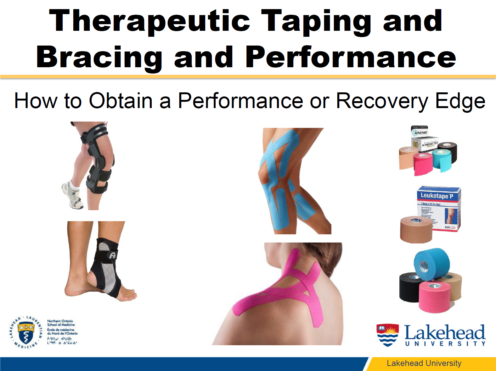 Dr. Sanzo Therapeutic Taping and Bracing