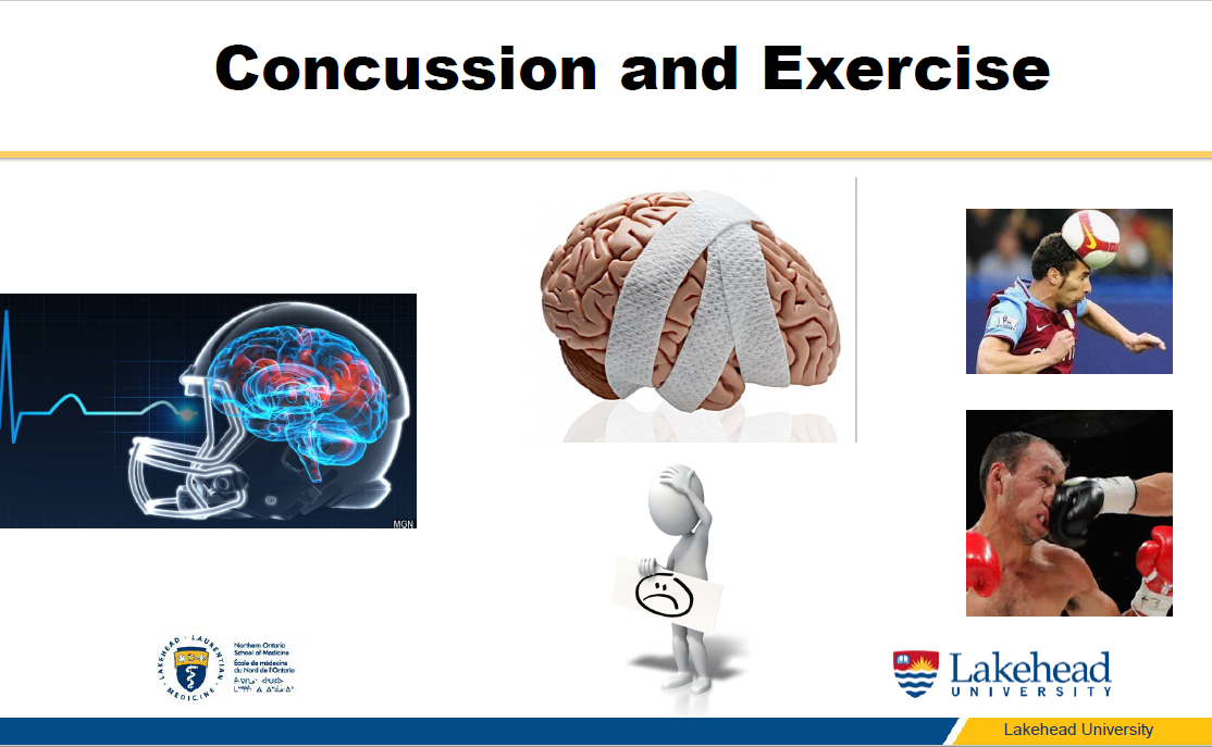 Dr. Sanzo Concussion and Exercise