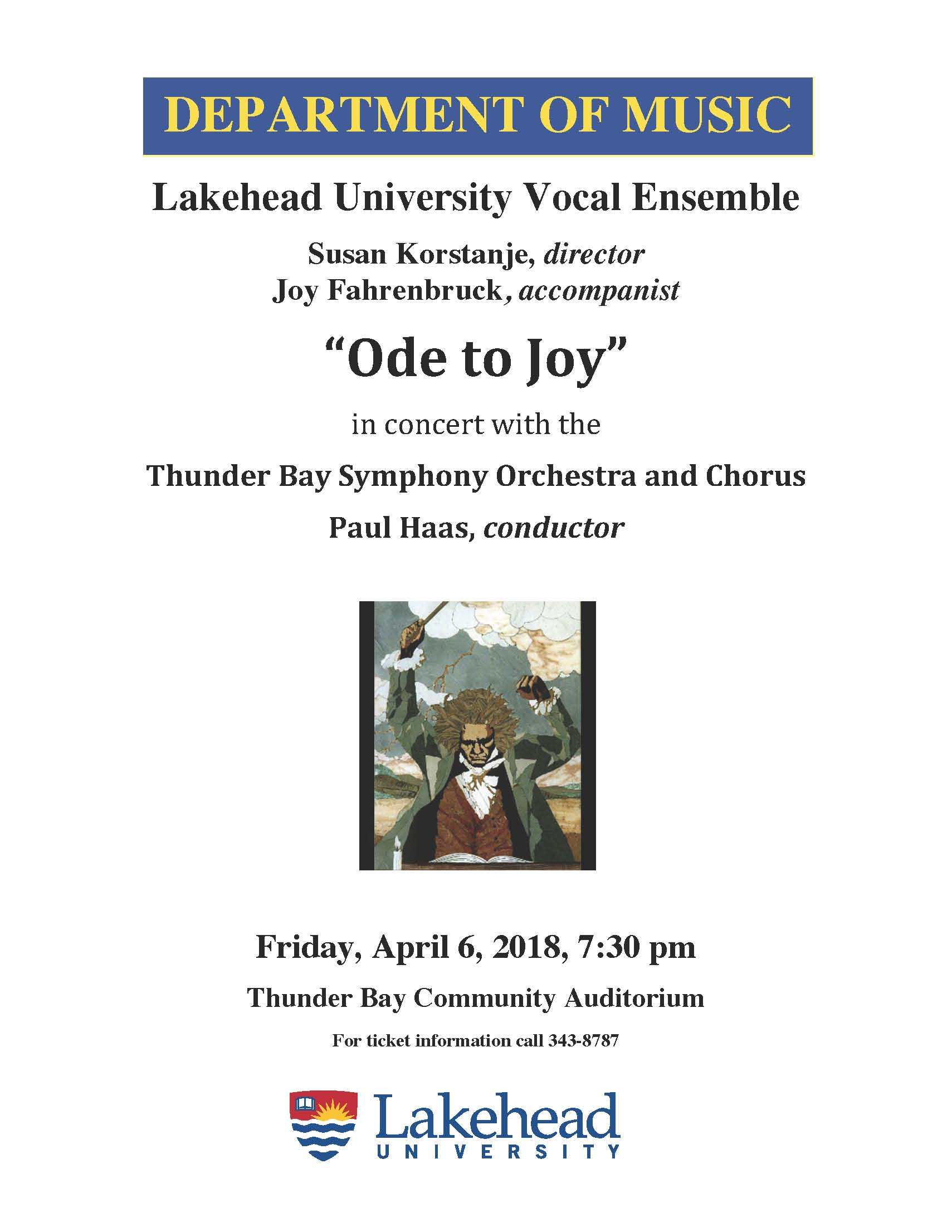 Vocal Ensemble Ode to Joy Concert