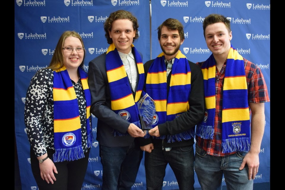 Four Year 3 Lakehead Engineering students won the 2018 Canadian Engineering Competition in Senior Design.